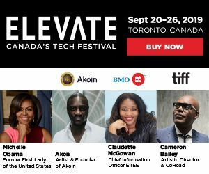 Elevate Tech Festival 2019 - Right Side Top