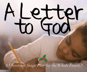 A letter to god, stage play by Kaleo Productions