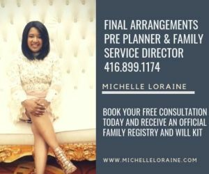 Michelle Loraine - Funeral Director