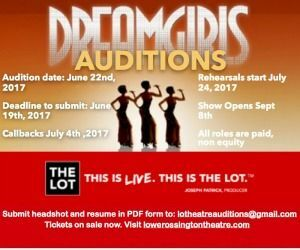 Dreamgirls Auditions