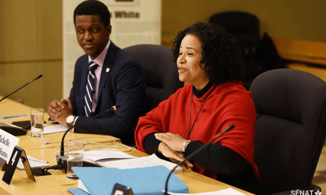 20180320 672x402 Agang Tema, University of BC Africa Awareness Initiative, Michelle Williams, Schulich School of Law Professor.png