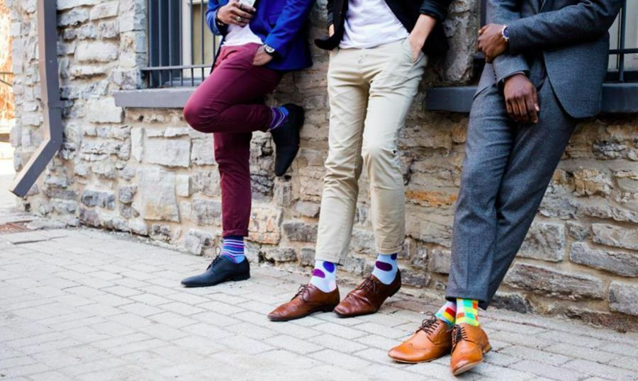Mens Kyso socks, image taken from Instagram feed - African Fashion Toronto