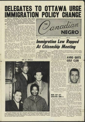 Commemorating the 65th Anniversary of the First Black-led Delegation to Ottawa