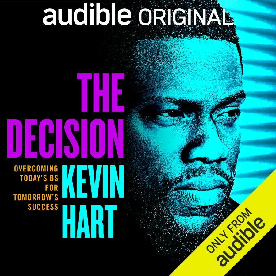 20200520 Kevin Hart The Decision Audible original 900x900px