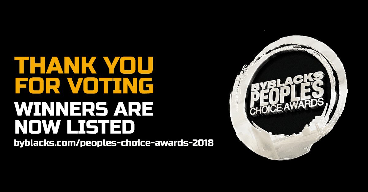 2018 ByBlacks.com - People's Choice Awards