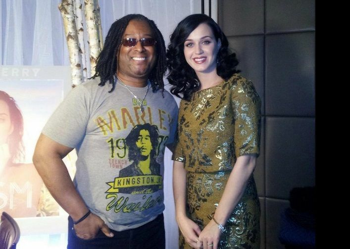 Rudy and Katy Perry