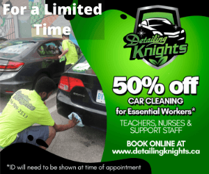 Detailing Knights 50% off promo