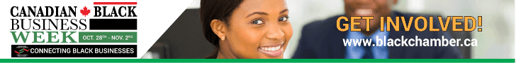 Canadian Black Chamber of Commerce - Leaderboard banner