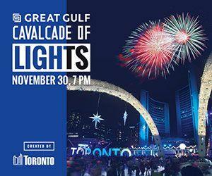 City of Toronto - Cavalcade of Lights Big Box Banner