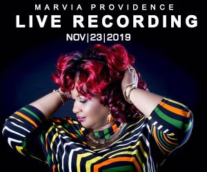Marva Providence live in concert November 23, 2019