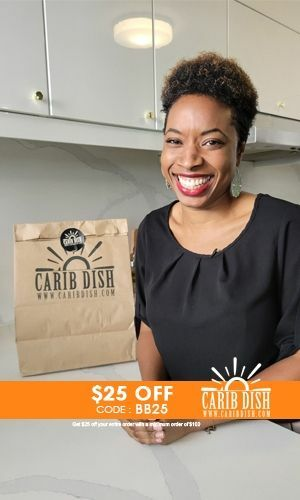 Carib Dish Meal Kit Get $25 Off use Code MOM