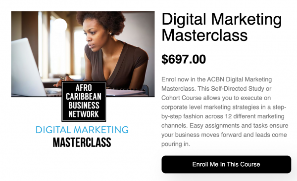 Digital Marketing Master Class