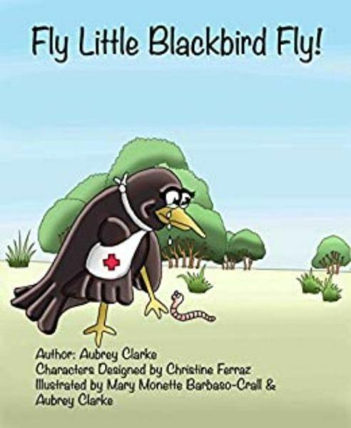 Fly Little Blackbird Fly by Aubrey Clarke