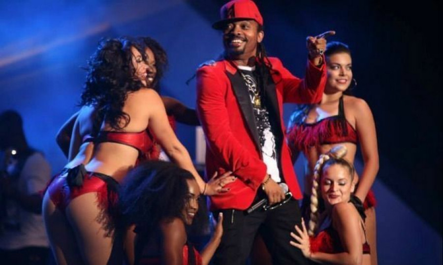 Machel Montano at Nathan Phillips Square July 12 2014