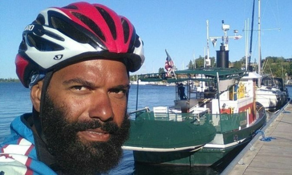 This Cyclist Quit His Job To Cycle Across Canada