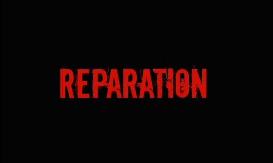 Reparation — It is long overdue!