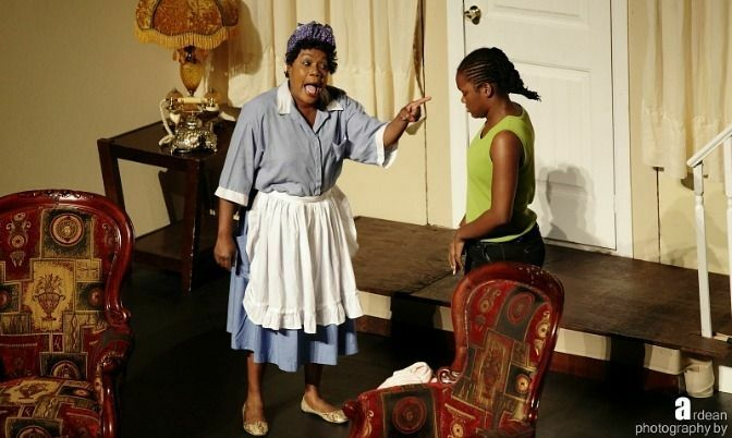 Marcia Brown & Kayla McLaughlin in a scene from I Need To Know My father